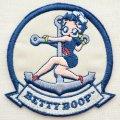 ワッペン ベティブープ Betty Boop(セーラー)