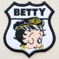 ワッペン ベティブープ Betty Boop(ロードサイン)