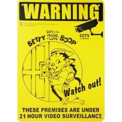画像1: アメリカン雑貨 看板 プラスチックサインボード BETTY BOOP 24H
