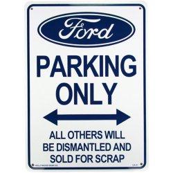 画像1: アメリカン雑貨 看板 プラスチックサインボード Ford Parking フォードパーキング CA-31