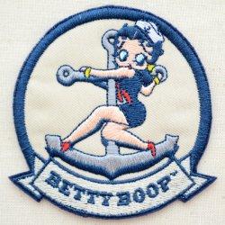 画像1: ワッペン ベティブープ Betty Boop(セーラー)