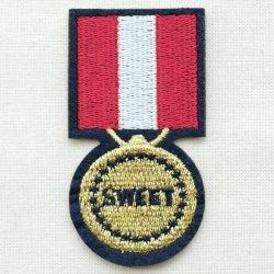 画像1: エンブレムワッペン スウィート(メダル)