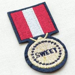画像2: エンブレムワッペン スウィート(メダル)