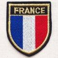 エンブレムワッペン フランス国旗