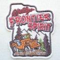 ワッペン Frontier Spirit(四駆車)