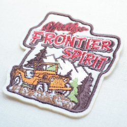 画像2: ワッペン Frontier Spirit(四駆車)