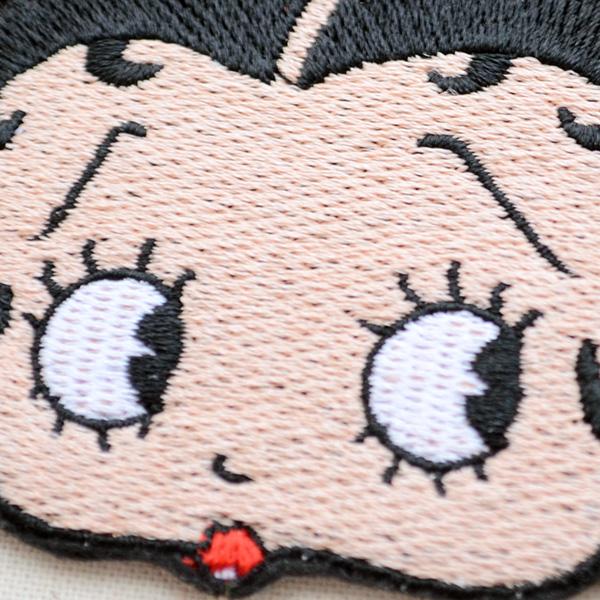 ワッペン ベティブープ Betty Boop(フェイス)