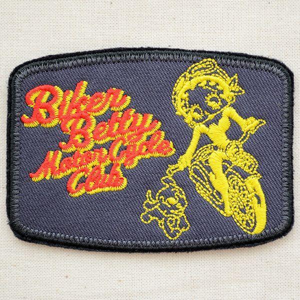 ワッペン ベティブープ Betty Boop(バイカー)