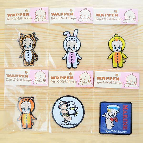キャラクターワッペン Kewpie キューピー パッケージ