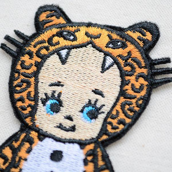 キャラクターワッペン Kewpie キューピー キグルミヒョウ