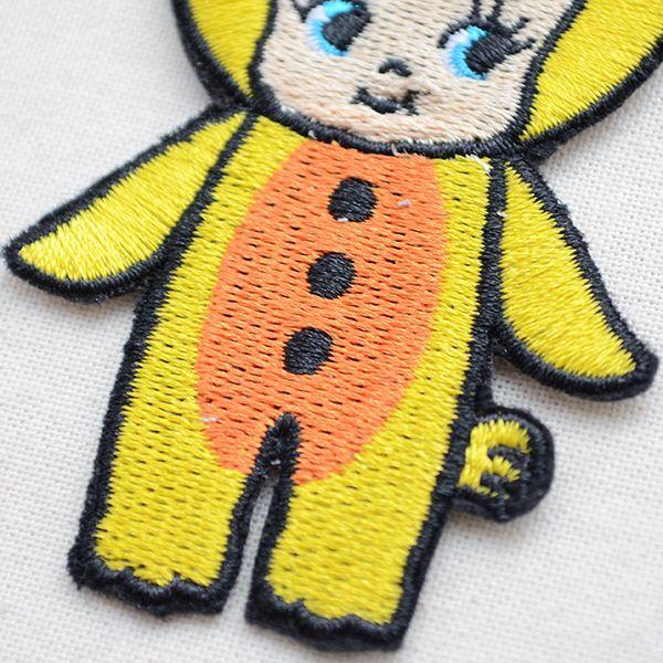 キャラクターワッペン Kewpie キューピー(キグルミヒヨコ)