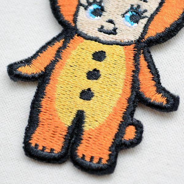 キャラクターワッペン Kewpie キューピー(キグルミクマ)