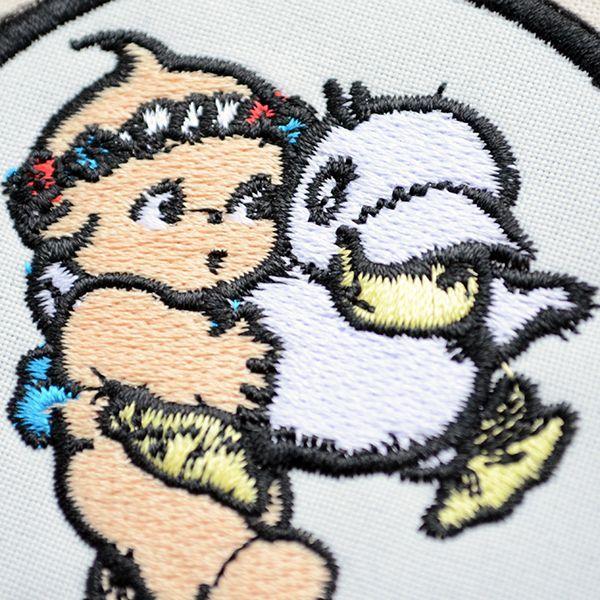 キャラクターワッペン Kewpie キューピー(ダックラウンド)