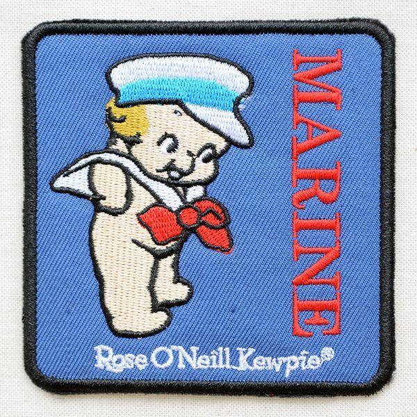 キャラクターワッペン Kewpie キューピー(マリンスクエア)